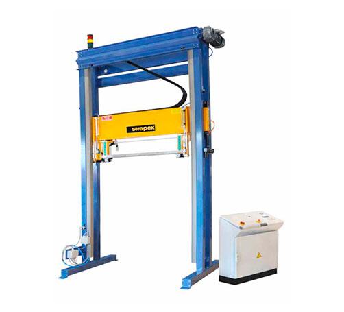 Endra Strapex – Máquina para cintagem automática de fitas plásticas
