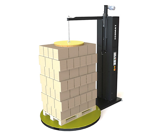 Ecomat Plus - Envolvedora de mesa giratória